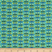 Alex Anderson Mirage Loop Stripe Angel Blue