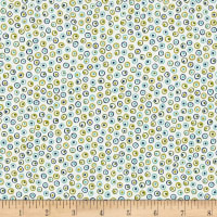 Alex Anderson Mirage Dots Whisper White
