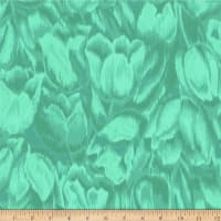 Jinny Beyer Burano Tulips Teal