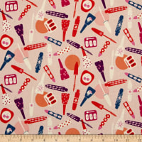 Cotton + Steel Jubilee All Made Up Peach