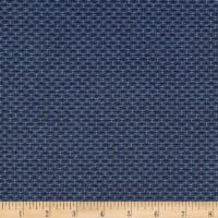 Kaufman Indikon 4.7 Oz Cotton Chambray Pluses Tight Blue