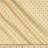 "108"" King Quilt Backs Dot Tan"