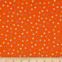 Fangtastic Glow In The Dark Dots Orange