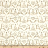 Scandi 4 Set Reindeer Cream