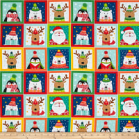 Novelty Christmas Novelty Labels Bright