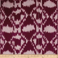 Dream Weaves Ikat Diamond Red