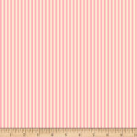 Back Porch Basics Stripes Pink/Ivory