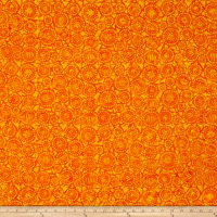 Wilmington Batiks Geo-Circles Orange
