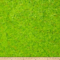 Wilmington Batiks Squiggles Lime Green