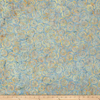 Wilmington Batiks Petal Burst Blue