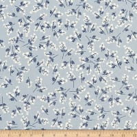 Cotton + Steel S.S. Bluebird Bouquet Blue