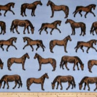 Polar Fleece Thoroughbred Blue