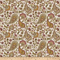 Fabricut Almost Alright Linen Blend Mulberry