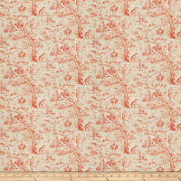 Fabricut Blitz Toile Burnt Orange