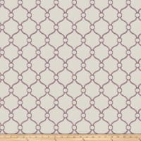 Fabricut Churchill Lilac Canvas
