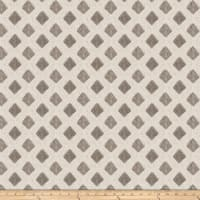 Fabricut Cool Arrow Linen Cool Grey