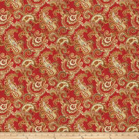 Fabricut Dandy Vermillion