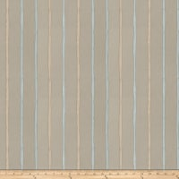 Fabricut Epicurean Stripe Faux Silk Aqua
