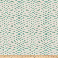 Fabricut Izara Embroidered Basketweave Breeze