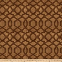 Fabricut Jacopo Velvet Coffee Bean
