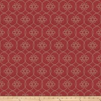 Fabricut Kyeema Lattice Red