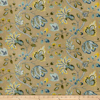 Fabricut Leeward Harvest Canvas Blue