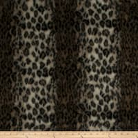 Fabricut Leopard Fur Faux Fur Brown