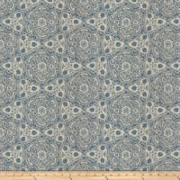 Fabricut Map Quest Slub Duck Indigo