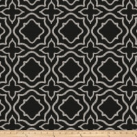 Fabricut Moondust Embroidered Onyx