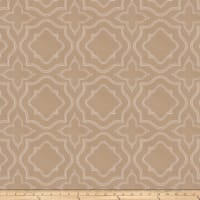 Fabricut Moondust Embroidered Almond