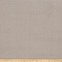 Fabricut Perforated Faux Suede Smoke