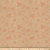 Mount Vernon Pleasure Garden Linen Blend Cinnamon