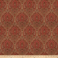 Fabricut Rationalism Linen Vintage Red