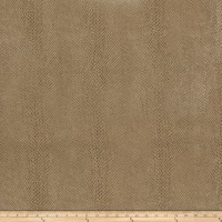 Fabricut Salem Faux Leather Camel