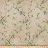 Fabricut Shiner Orchid Jacquard Teal