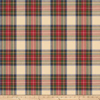 Fabricut Tartan Twill Plaid Multi