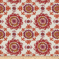 Fabricut Outlet Cotton Duck Trenton Garnet