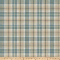 Fabricut Twitch Plaid Bluejay