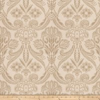 Fabricut Wisdom Damask Travertine