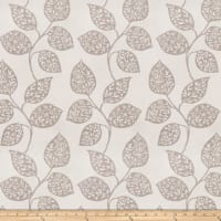 Fabricut Zippy Leaves Jacquard Dove