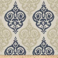 Trend 03155 Faux Silk Navy Tan