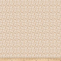 Trend 03617 Embroidered Shantung Caramel
