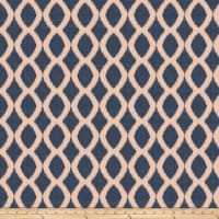 Jaclyn Smith 03718 Jacquard Navy