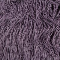 Shannon Luxury Faux Fur Curly Yak Fur Dusk