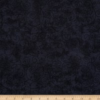 Westrade 110 In. Wide Quilt Back Willow Charcoal