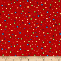 Fun With Rudolph Dots Red