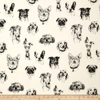 Bow Wow Wow Dog Portaits Tea/Black