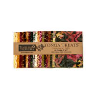 "Timeless Treasures Tonga Batik Vineyard 5"" Square Packs"