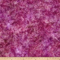 Timeless Treasures Tonga Batik Zanzibar Jacobean Paisley Plum