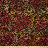 Timeless Treasures Tonga Batik Vineyard Abstract Damask Vineyard